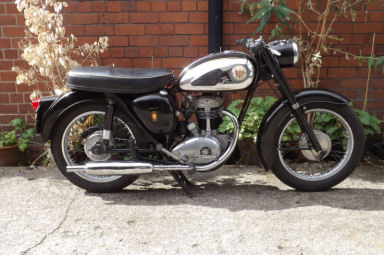 BSA C15 SS80 Sports Star 1961