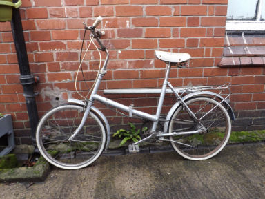Elswick folding Bicycle 1970's