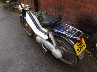 Honda Camino moped 1978