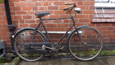 Raleigh gents bicycle 1950's