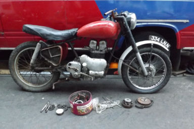 Royal Enfield 500 Twin 1953 #2
