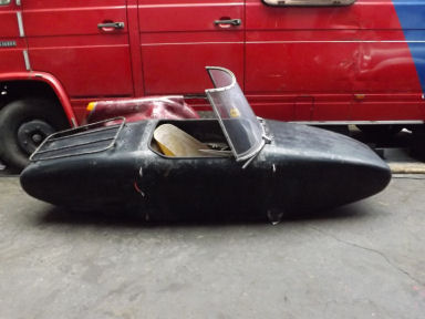 Wessex single seater sports sidecar
