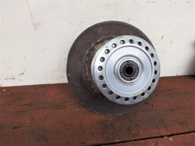 Norton Commando front wheel hub disc type