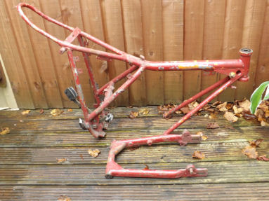 Ossa Mar Frame and swinging arm