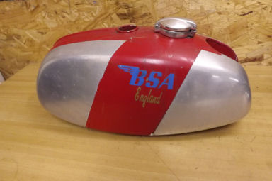 BSA B50 MX alloy petrol tank