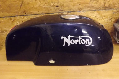 Norton Production racer petrol tank