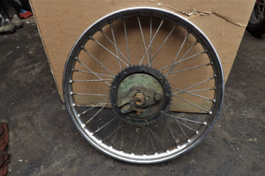 BSA Bantam plunger rear wheel