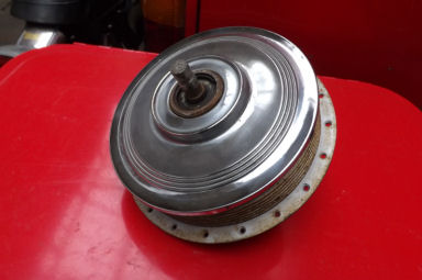 Triumph front Hub eight inch TLS