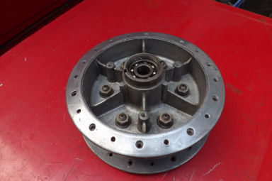 Royal Enfield full width hub rear with cushdrive adaptor